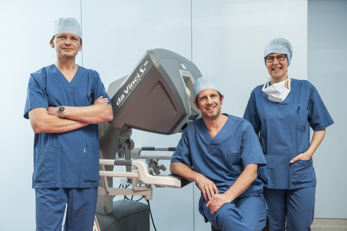 Da Vinci - Robot-assisted surgery